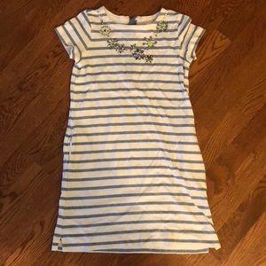 Crewcuts size 8 t-shirt dress youth